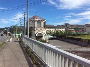 松島ポポロ外観橋から